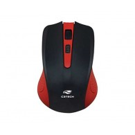 Mouse Wireless C3Tech M-w20 Vermelho